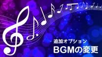 追加オプション:BGMの変更